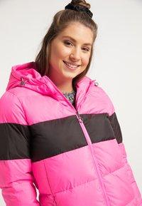 myMo - Winter jacket - pink espresso - 3