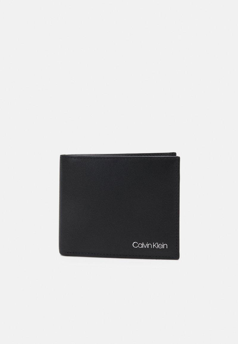 Calvin Klein - BIFOLD COIN - Portefeuille - black