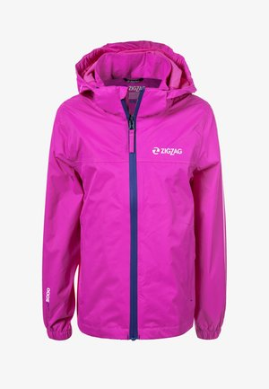 Outdoor jacket - 4072 pink peacock