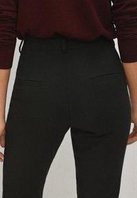 Massimo Dutti - Spodnie materiałowe - black - 4