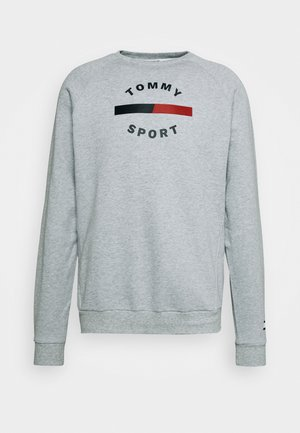 PRINTED CREW - Sweatshirt - grey