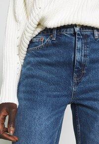 Topshop Tall - CLEAN - Straight leg jeans - blue denim - 4