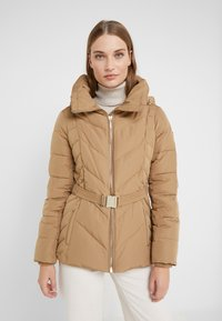MICHAEL Michael Kors - FITTED PUFFER - Down jacket - dark camel - 6
