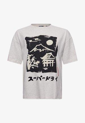 Print T-shirt - honey tiger