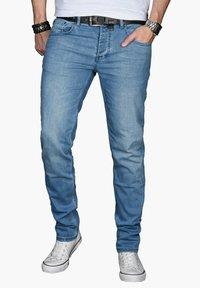 Alessandro Salvarini - Slim fit jeans - hellblau - 0