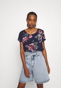ONLY - ONLFIRST ONE LIFE - Blouse - night sky - 0