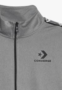 Converse - STAR CHEVRON COLORBLOCK TRACK JACKET - Trainingsjacke - dark grey heather - 4