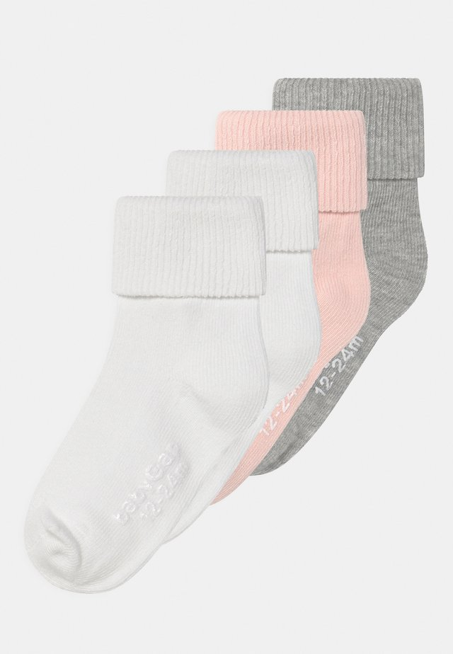 TODDLER ROLL 4 PACK UNISEX - Socks - multi-coloured