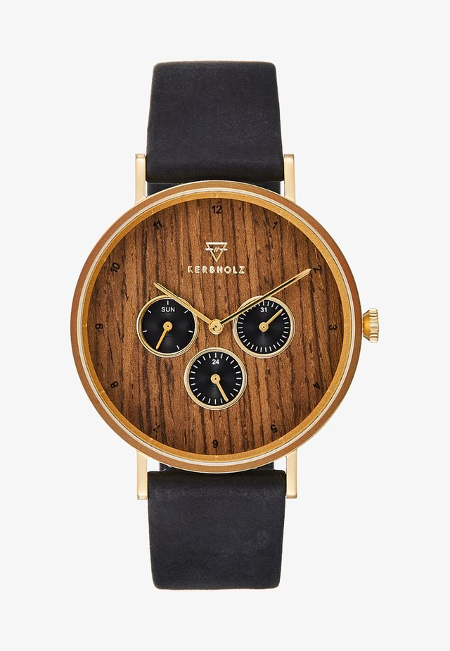 CASPAR - Chronograph watch - black