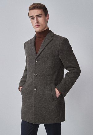 EPSOM  - Pitkä takki - mottled grey