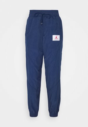 PANT - Tracksuit bottoms - navy/desert berry