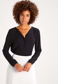 Vila - Long sleeved top - black - 0