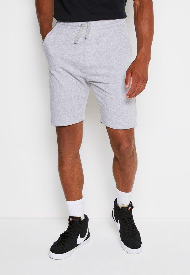 BASIC - Tracksuit bottoms - light grey
