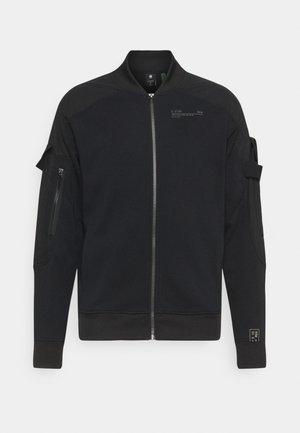 MIXED CARGO BOMBER  - Summer jacket - dark black