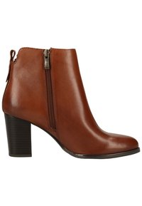 Caprice - Classic ankle boots - cognac nappa 303 - 6