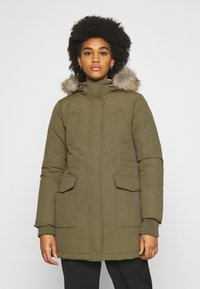 Tommy Jeans - TECHNICAL  - Down coat - olive tree - 0