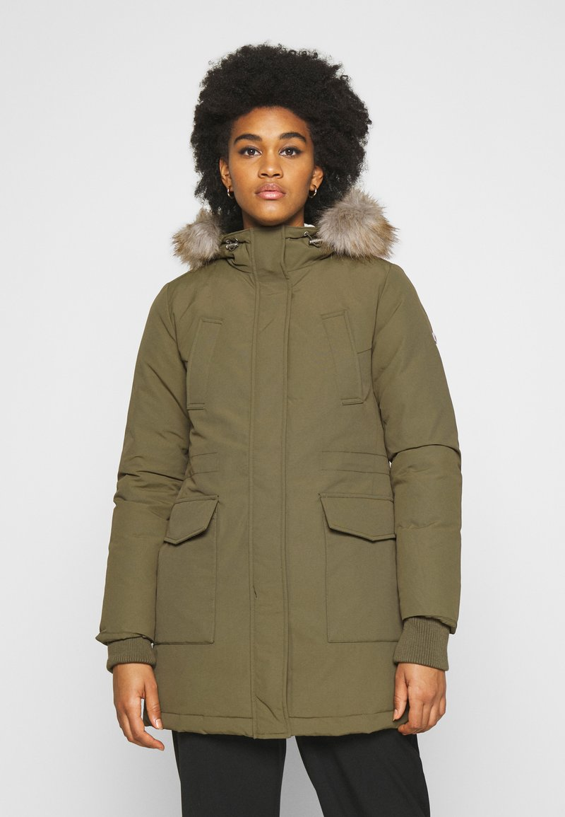 Tommy Jeans - TECHNICAL  - Down coat - olive tree