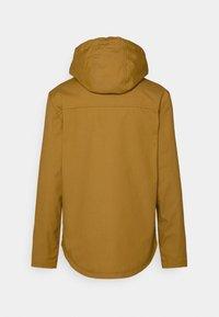REVOLUTION - HOODED JACKET - Summer jacket - yellow - 1