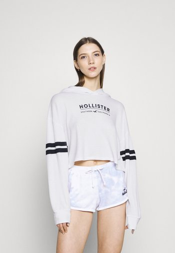 HOODIE - Topper langermet - white