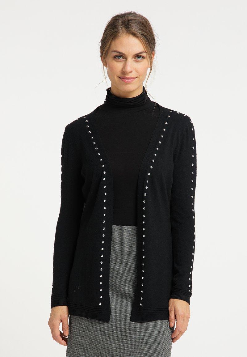 usha - Cardigan - schwarz