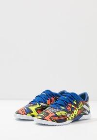 adidas Performance - NEMEZIZ MESSI 19.3 - Indoor football boots - royal blue/silver metallic/solar yellow - 3