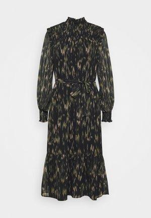BLURRY LIQUID DRESS - Day dress - black