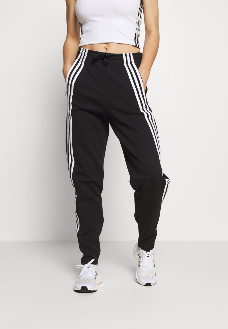 adidas Performance - PANT - Pantalon de survêtement - black/white