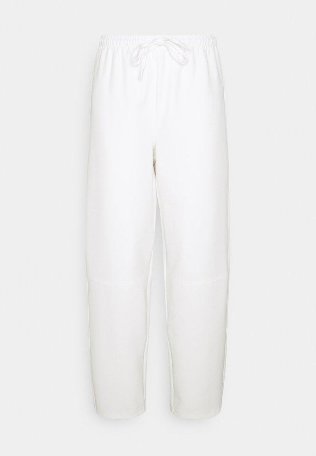 COCOON PANTS - Pantaloni - white