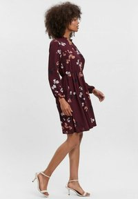 Vero Moda - COURTES - Day dress - bordeaux - 4