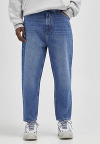 PULL&BEAR - Jeans relaxed fit - mottled blue - 0