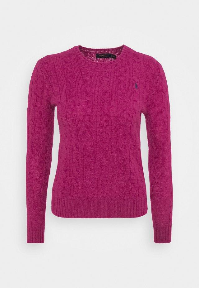 JULIANNA  - Strickpullover - pink/white
