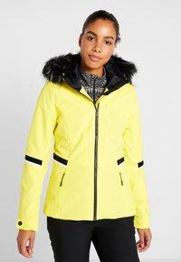 Ziener - TOYAH LADY - Ski jas - yellow power - 0
