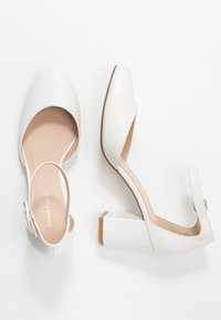 Anna Field - LEATHER CLASSIC HEELS - Escarpins - white - 3
