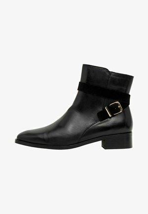BIADAJA - Cowboy/biker ankle boot - black