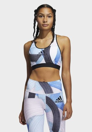 DON'T REST NINI SUM TRAINING BRA - Sport BH - white