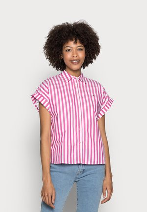 STRIPE RELAXED SHIRT - Button-down blouse - pink