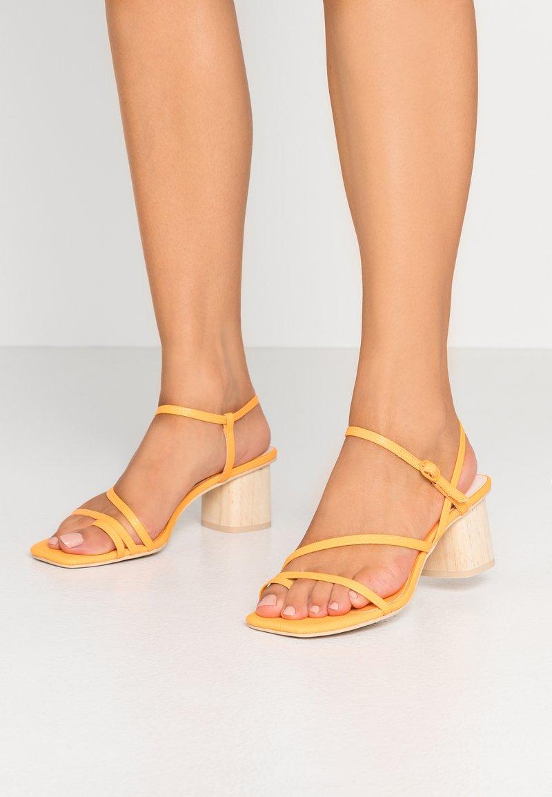 Dolce Vita - ZYDA - T-bar sandals - tangerine
