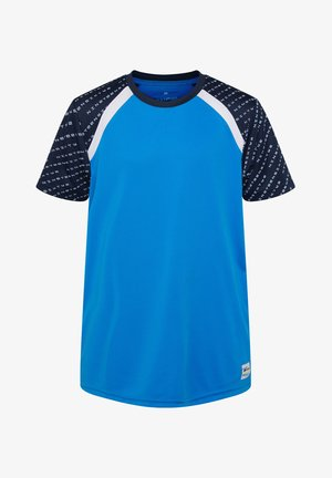 WE FASHION JUNGEN-SPORTSHIRT - T-shirt print - blue