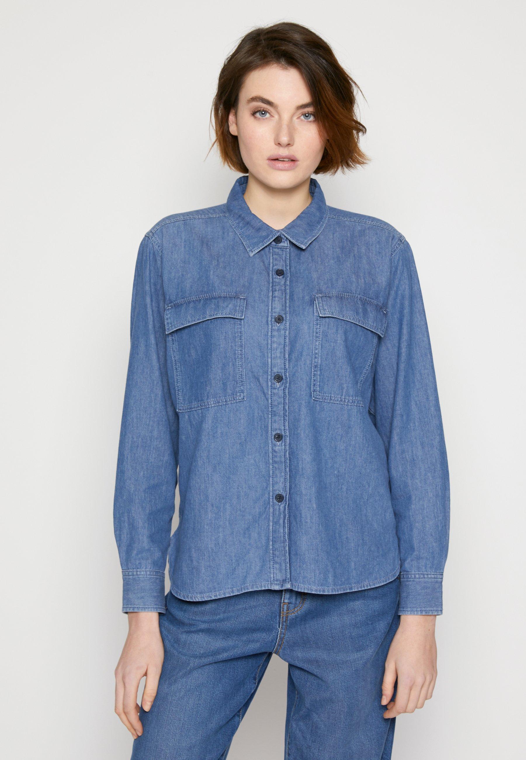 Women CHEST POCKET - Button-down blouse