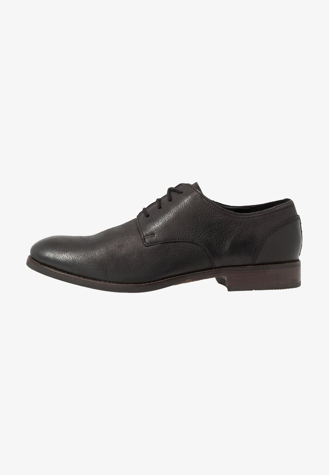 FLOW PLAIN - Derbies & Richelieus - black