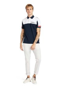 Timberland - MILLERS RIVER  - Polo shirt - dark sapphirewhite - 1