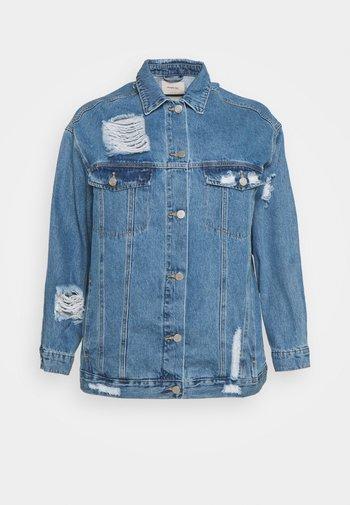 JACKET - Denim jacket - stonewash