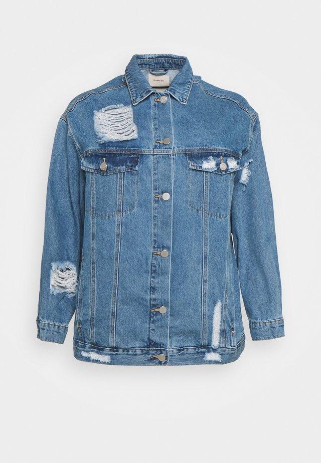 JACKET - Giacca di jeans - stonewash