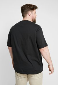 Tommy Hilfiger - CORP FRAME TEE - Print T-shirt - black - 2
