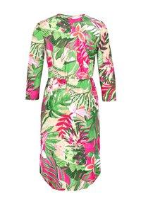 Gerry Weber - MIT FLOWERPRINT ECOVERO - Day dress - lila/pink/grün druck - 4