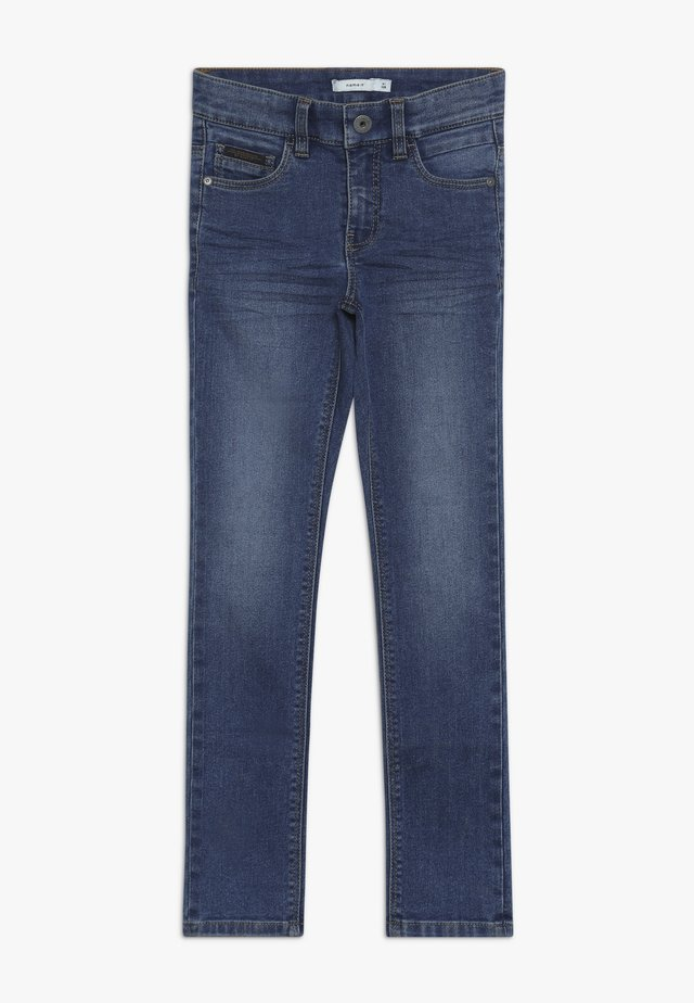 NKMTHEO PANT - Relaxed fit jeans - medium blue denim