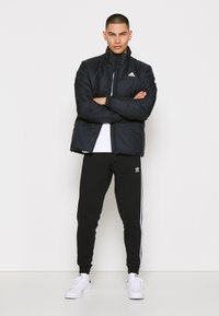 adidas Performance - 3 STRIPES INSULATED JACKET - Vinterjacka - black - 1