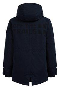WE Fashion - MET CAPUCHON - Winter coat - dark blue - 1