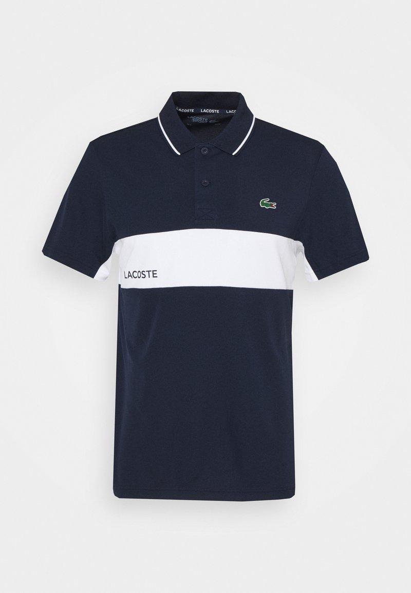 Lacoste Sport - TENNIS  - Sportshirt - navy blue/white