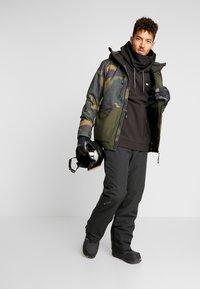 O'Neill - TEXTURED JACKET - Veste de snowboard - green - 1
